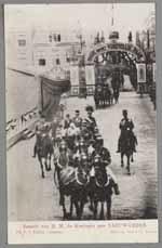 Bezoek van H.M. de Koningin aan LEEUWARDEN.