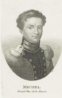 Michel Grand Duc de la Russie