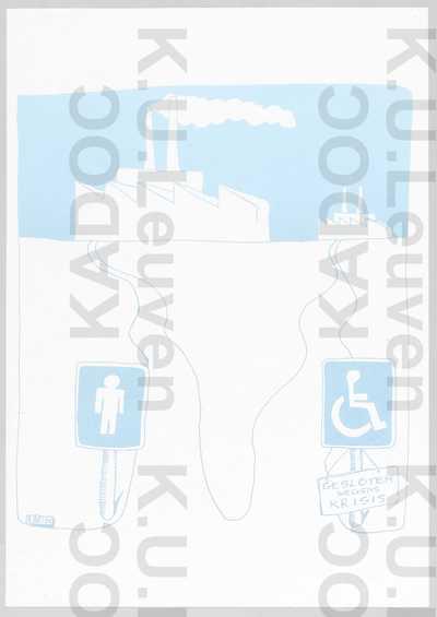 Jong-KVG : karikatuur op de kwetsbaarheid van gehandicapten in tijden van economische crisis