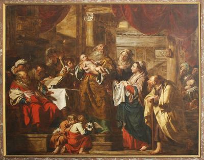 Opdracht in de tempel
