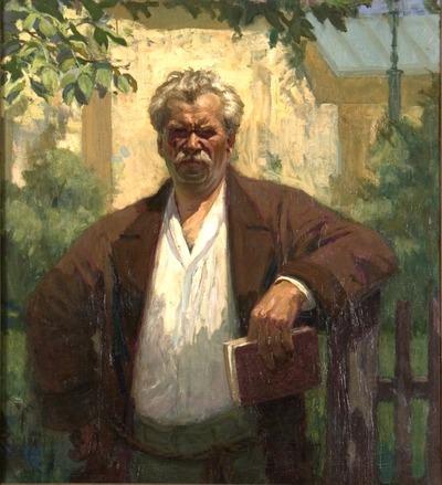 Móricz Zsigmond portréja