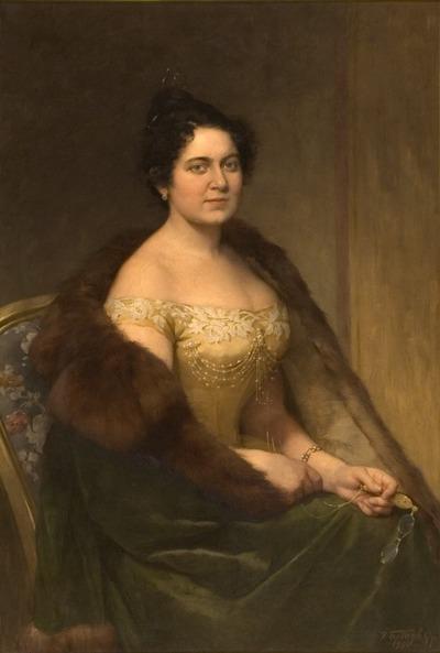 Jókainé Nagy Bella portréja
