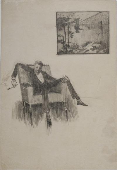 Justh Zsigmond-portré
