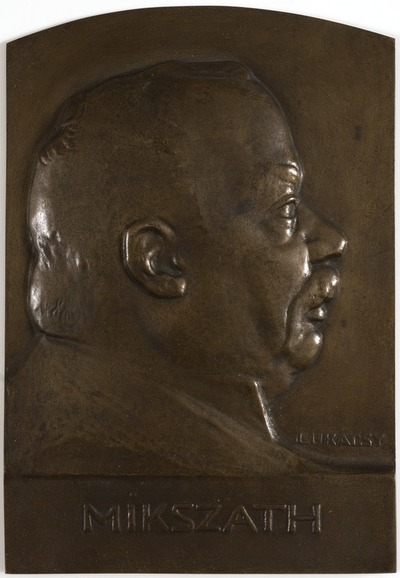 Mikszáth Kálmán - plakett