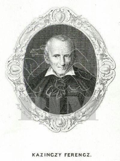 Kazinczy Ferenc (1759-1831) portréja