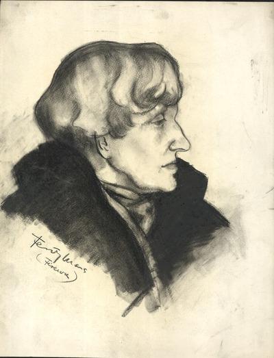 Feszty Árpádné Jókai Róza portréja