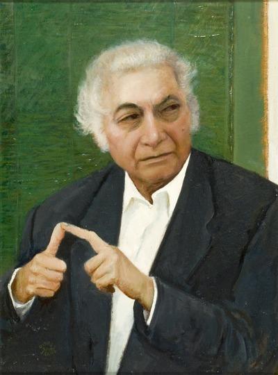 Csoóri Sándor portréja