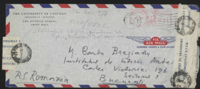 Scrisoare adresata lui Barbu Brezianu
