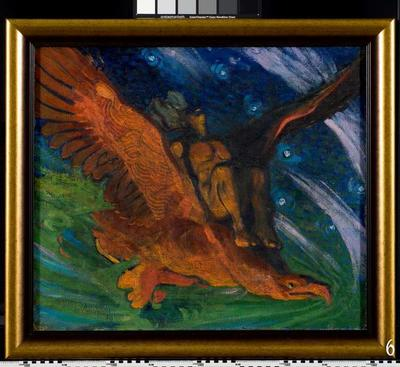 Reclining Nude / Kalev on the Eagle's Back