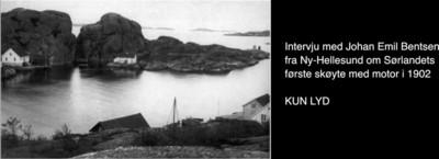 Sørlandets første skøyte med motor