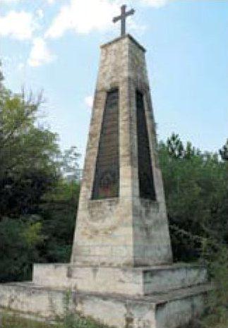 Братская могила русских воинов 121-го Пензенского полка