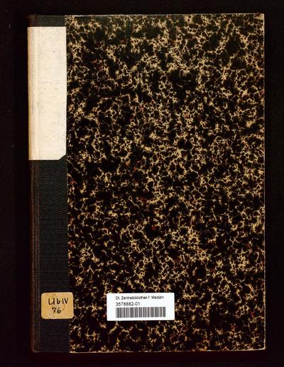 Festschrift der XIX. allgemeinen Versammlung der Deutschen Anthropologischen Gesellschaft