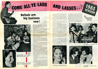 Come all ye lads and lasses : ballads are big business now