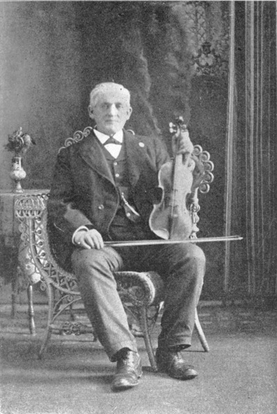 Edward Cronin, fiddle
