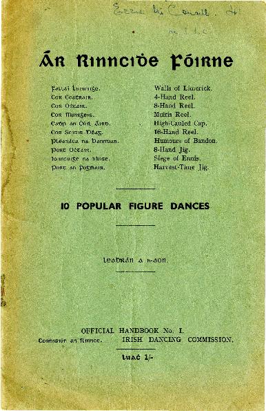 Ár rinncidhe fóirne: 10 popular figure dances