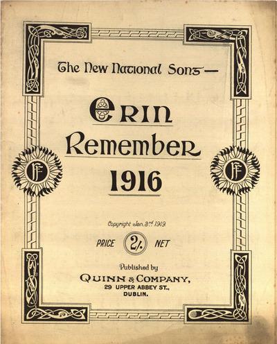 Erin remember 1916