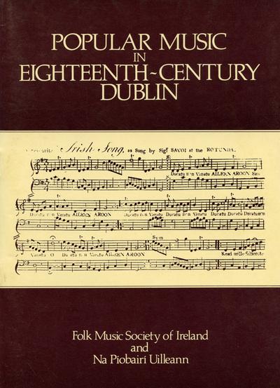 Popular music in eighteenth century Dublin