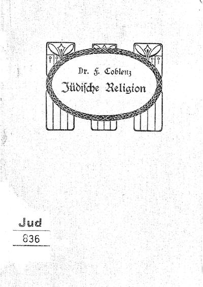 Lehrbuch der Jüdischen Religion
