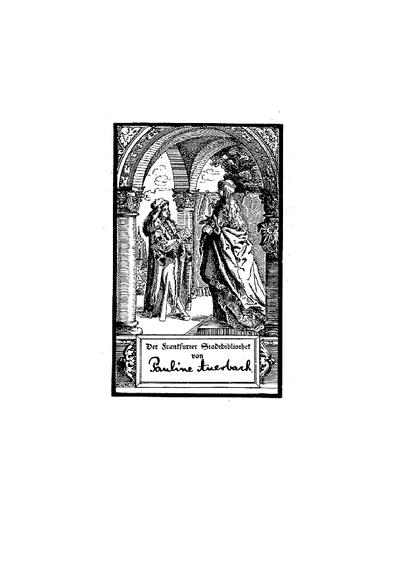Derek emunah: der Weg des Glaubens oder : die kleine Bibel; enthaltend einen vollst. Ausz. aus d. Bücher d. heiligen Schrift ; zunächst f. israelitische Frauen u. Mädchen, u. mit Rücksicht auf d. Unterricht in der Religion u. Sittenlehre f. Knaben u. Mädchen zum Schul- u. Privat-Unterrichte bearb.
