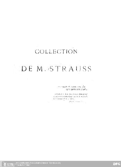 Collection de Strauss : description des objets d'art religieux hébrai͏̈ques ; exposé dans les galeries du Trocadéro, à l'exposition universelle le 1878