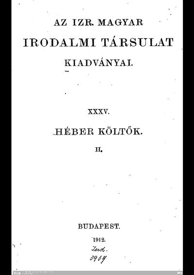 Második kötet