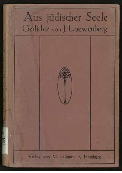 Aus jüdischer Seele : Gedichte