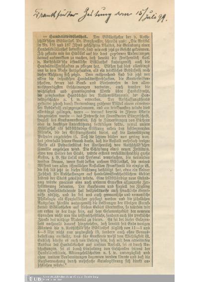 1899, Teil 2