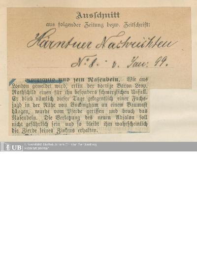 1899, Teil 1