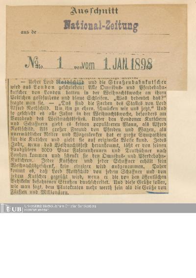 1898, Teil 1
