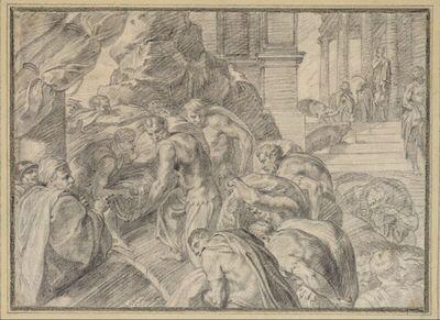 Ulysses verläßt die Insel der Kirke
