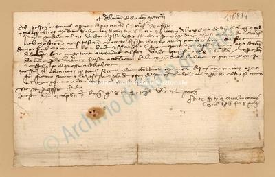 Lettera di Quarti Antonio e Comi Niccolao a Datini Francesco Di Marco e Comp., 28/06/1402, carte 1