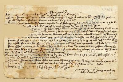Lettera di Comi Niccolao a Datini Francesco Di Marco e Comp., 11/02/1407, carte 1