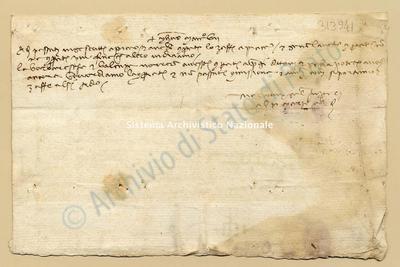 Lettera di Comi Niccolao a Datini Francesco Di Marco e Comp., 10/03/1407, carte 1