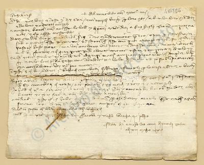 Lettera di Quarti Antonio e Comi Niccolao a Datini Francesco Di Marco e Comp., 13/05/1404, carte 1