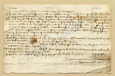 Lettera di Quarti Antonio e Comi Niccolao a Datini Francesco Di Marco e Comp., 01/10/1404, carte 1