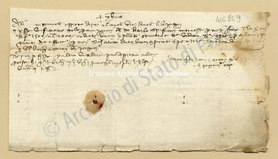 Lettera di Quarti Antonio e Comi Niccolao a Datini Francesco Di Marco e Comp., 24/10/1404, carte 1