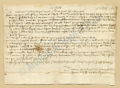 Lettera di Quarti Antonio e Comi Niccolao a Datini Francesco Di Marco e Comp., 03/11/1404, carte 1