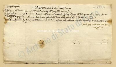 Lettera di Quarti Antonio e Comi Niccolao a Datini Francesco Di Marco e Comp., 21/11/1404, carte 1