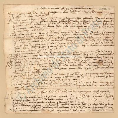 Lettera di Mannelli Raimondo a Datini Francesco Di Marco e Comp., 29/09/1408, carte 1
