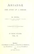 Ariadne : The story of a dream. Vol. 2.