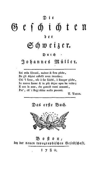 Die Geschichten der Schweizer : das erste Buch