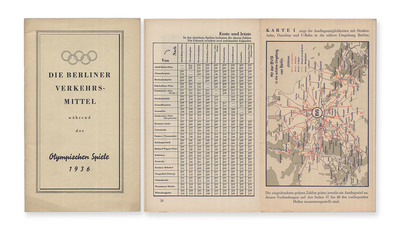 Spiele der XI. Olympiade 1936, Berlin