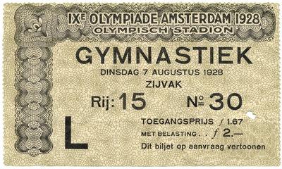 Spiele der IX. Olympiade 1928, Amsterdam