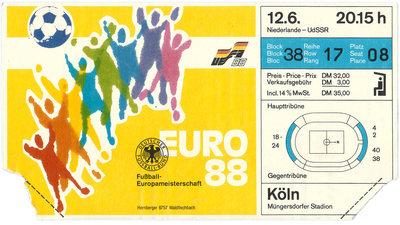 8. UEFA-Europameisterschaft - 1988, Deutschland