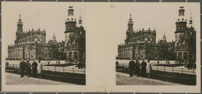 N.º 37. Dresden - Iglesia Católica de la Corte y Castillo.