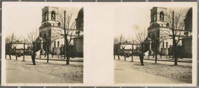 N.º 184. Kaunas (Kovno). - Iglesia católica de S. Pedro y S. Pablo.