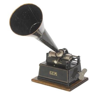 Edison Gem (later Model A) phonograph