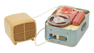 TRIX Phonotrix portable tape recorder