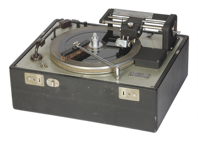 Birmingham Sound Reproducers Ltd DR33C portable disc cutting lathe