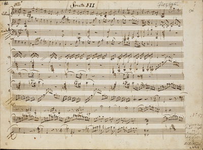 Wolfgang Amadeus Mozart: Sonata for violin and piano in F (K377/374e)